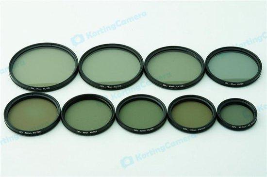 72mm CPL Polarisatie filter camera lens Canon Nikon Sony