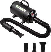 Topmast Premium Waterblazer - 2800 Watt - Hondenfohn - Waterblazer voor honden - Hondenborstel - Zwart