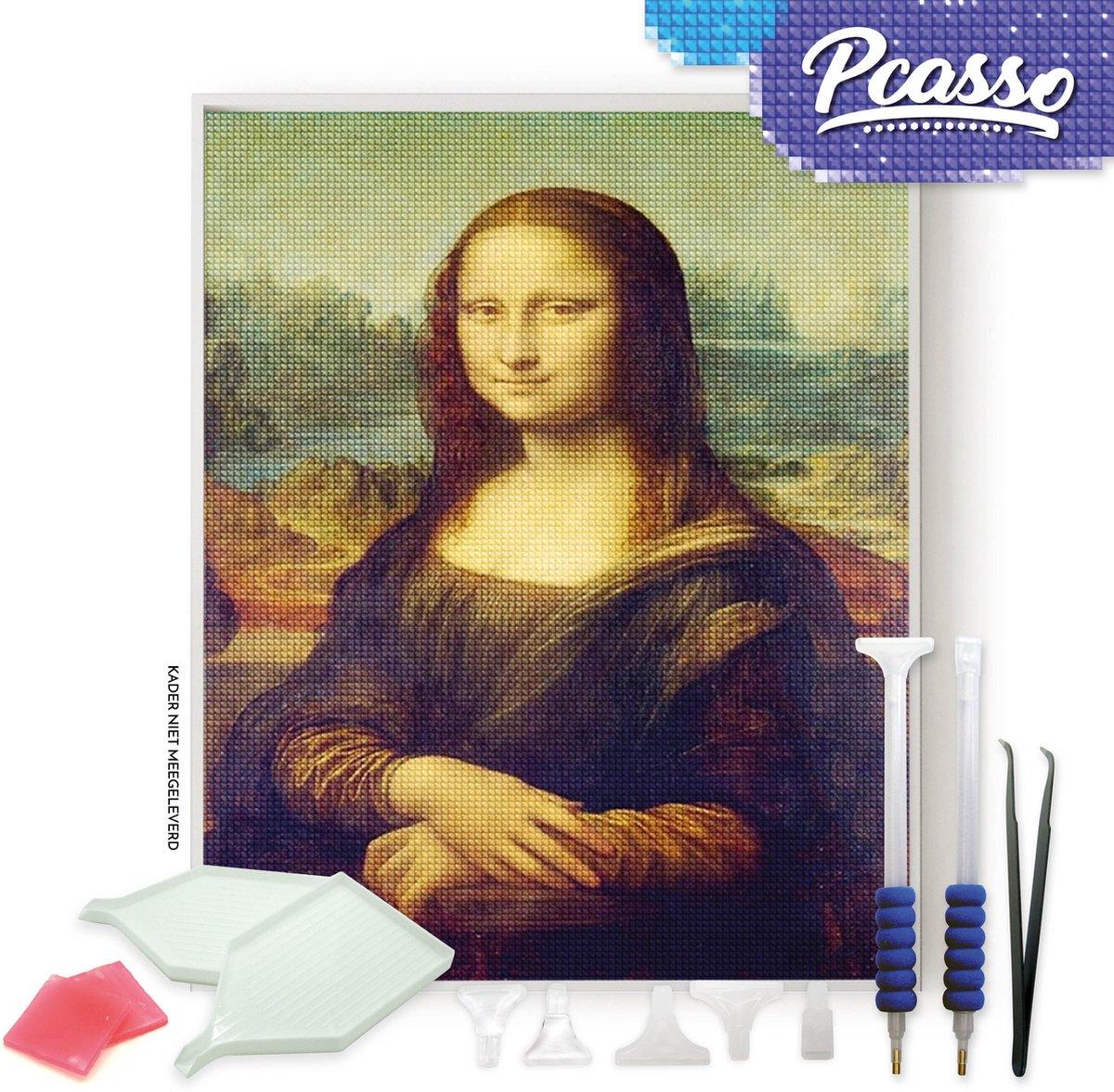 Pcasso ® Monelisa - Diamond Painting - Incl. Veel Diamond Painting Accessoires - Diamond Painting Kinderen - Diamond Painting Dieren - Diamond painting volwassenen - 30x40 CM