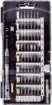 STACK Precisie Schroevendraaierset | 60 delig - CR-V materiaal - Smartphone reparatieset - Bitset - Magnetisch - Schroevendraaier voor Laptop / Macbook / Smartphone / iPhone / Camera / Horloge / Bril / Tablet / iPad