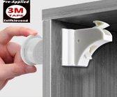 Magneetslot 3M - 4 stuks - kinderslot baby - Geen schroeven nodig - onzichtbaar - kinderbeveiliging - kastbeveiliging voor kinderen - ladebeveiliging - veiligheidsslot - kastvergrendeling
