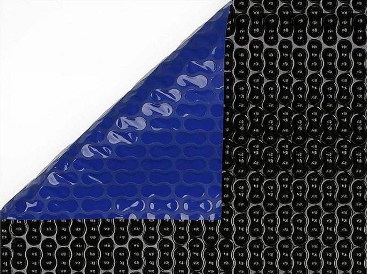 GeoBubble - solar folie - zomerafdekking - afdekzeil zwembad 500μm | Blauw/Zwart | 4,60 m