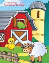 Livre de coloriage Animaux de la ferme 1