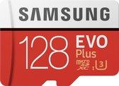 Samsung Evo+ 128 GB Micro SDXC class 10 - met adapter