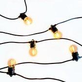 a sunny day lichtsnoer buiten inclusief 10 LED lampen - 12,5 meter - lichtsnoer voor buiten - prikkabel - lichtsnoer - 10 LED lampen - verlengbaar - lichtsnoer binnen - prikkabel binnen - prikkabel 12,5 meter - lichtsnoer tuin - prikkabel tuin