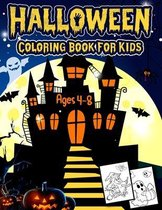 Halloween Coloring to Book for Kids Ages 4-8