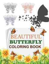 Beautiful Butterfly Coloring Book