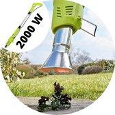 DirectSupply Onkruidbrander - Brander 2000W - Elektrisch - Onkruidbestrijding - Onkruidbrander Elektrisch - Barbecue Aansteker - BBQ Aansteker