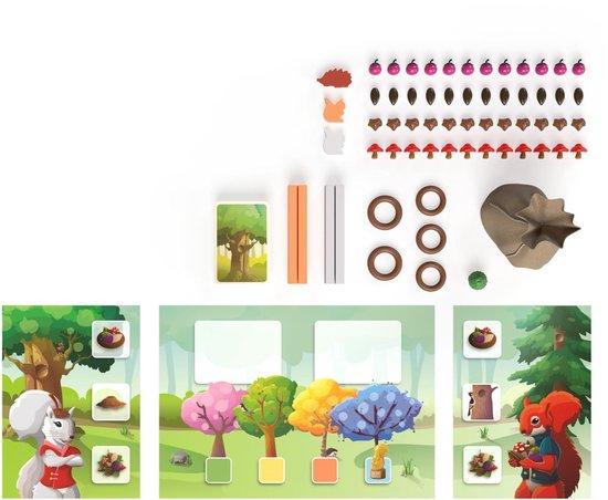 Thumbnail van een extra afbeelding van het spel Squirrel Away - Bordspel voor kinderen - Sensomotorisch - Strategisch