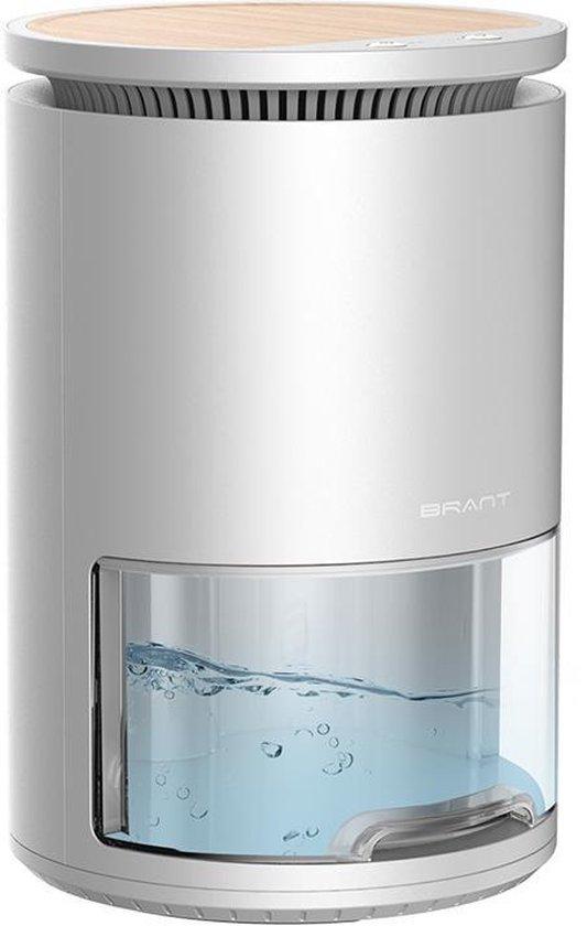 MANI Luchtontvochtiger - 2-in-1 Luchtreiniger Dehumidifier - Stil - Slaapkamer/ Badkamer/ Huis – 1 liter reservoir- Wit