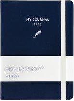 A-Journal My Journal Agenda 2022 Dark Blue