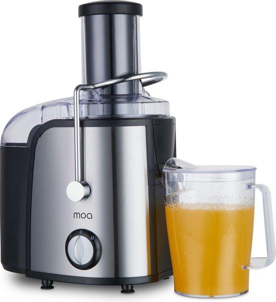 MOA Sapcentrifuge - Slowjuicer - Juice Extractor - RVS - JE308