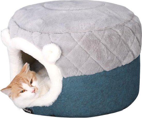 Purridor Kattenmand en kattenhuis in 1- Kattenbed - Catcave - Inclusief...