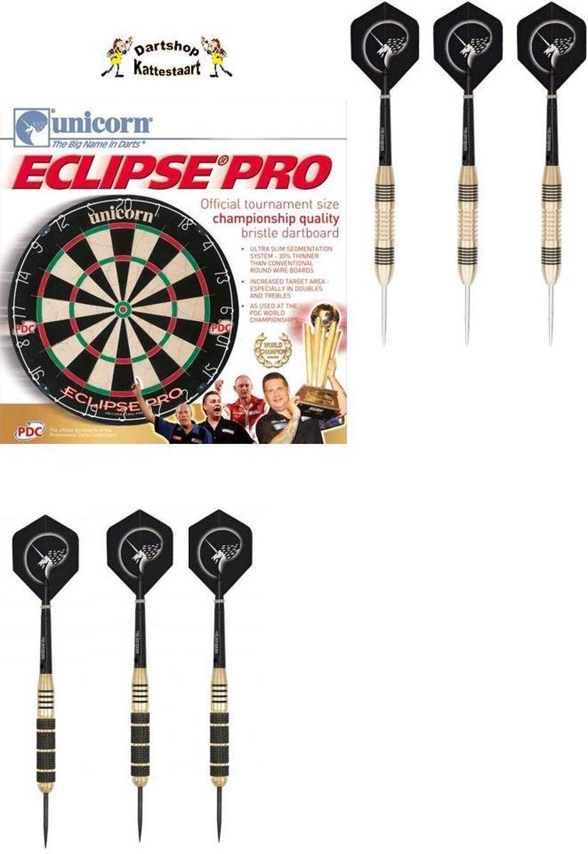 Unicorn Eclipse Pro Dartbord SET incl 2 Sets Darts