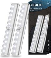 Kastverlichting LED met bewegingssensor- Keukenverlichting op batterij - LED Kast Verlichting Draadloos (2-PACK)