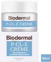Biodermal P-Cl-E Creme - Dagcreme - Deze dagcreme ondersteunt het herstellend vermogen van de droge huid - 50 ml