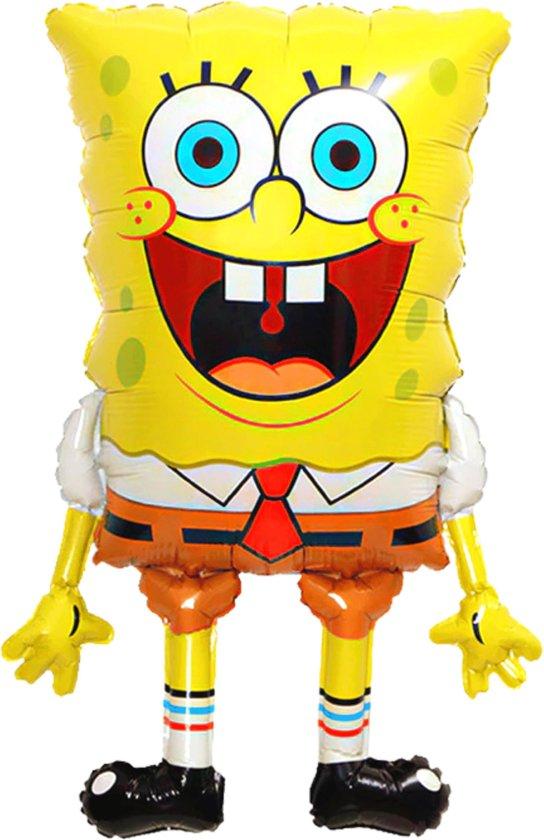 SpongeBob Ballon - 82 x 56 cm - Ballon Groot - SpongeBob Speelgoed - SpongeBob SquarePants - Ballon Tekenfilm - Folieballon