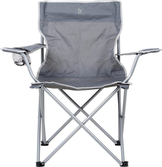 Bo-Camp Campingstoel - Vouwstoel - Compact - Grijs