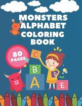 Monsters Alphabet Coloring Book