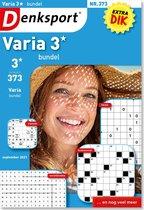 Denksport Puzzelboek Varia 3* bundel, editie 373