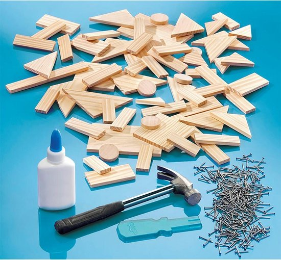 Totum Carpenter King - Timmerset met hout