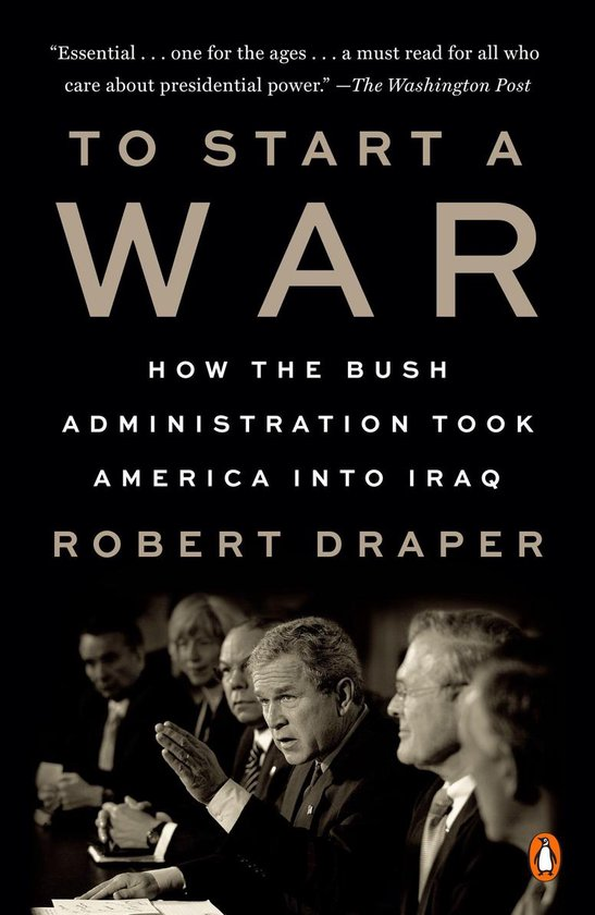 Boek cover To Start a War van Robert Draper (Onbekend)