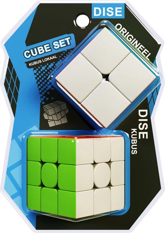 Speed Cube Set - 2x2, 3x3 - Kubus - Magic Cube - Breinbreker
