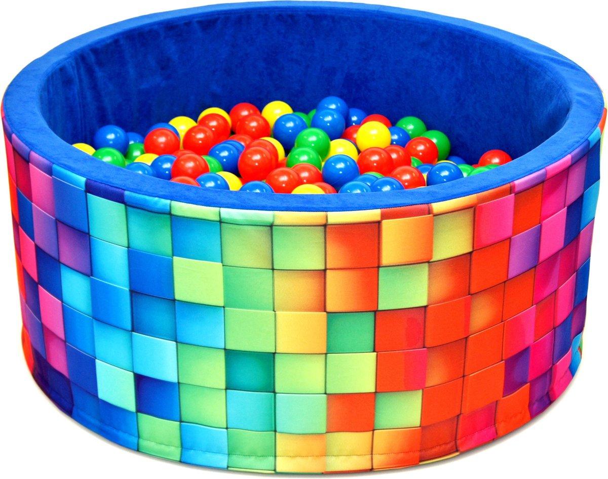 Ballenbak XL incl ballenbak ballen - Disco Blauw