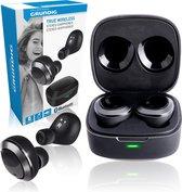 Grundig Oortjes - Draadloos - Bluetooth - met Microfoon - TWS - Zwart