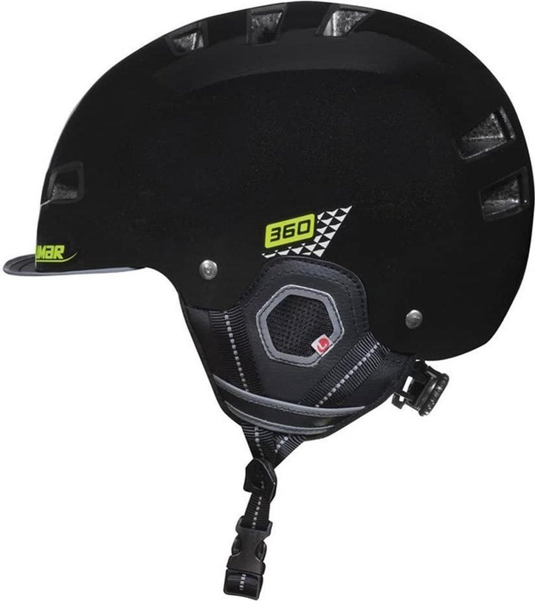 Limar Fietshelm 360 Urban/Skate 57-62cm Reflective black