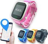 KUUS. W1 - GPS horloge kind, smartwatch voor kinderen met GPS tracker - Walkie Talkie functie - Roze
