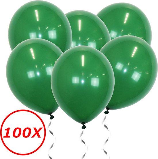 Groene Ballonnen 100St Feestversiering Verjaardag Ballon