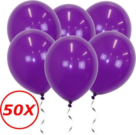 Paarse Ballonnen Verjaardag Versiering  Paarse Helium Ballonnen Feest Versiering Halloween Paars 50 Stuks
