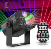 Boscer® Disco Laser | 3 in 1 Multilaser | Stroboscoop & Parscoop effect |  LED Disco | Party discolaser | Geluid gestuurd | Discolamp | Lichteffect