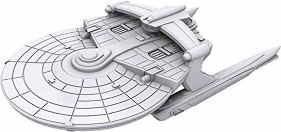 Afbeelding van het spel Star Trek: Attack Wing Deep Cuts Unpainted Miniatures - Miranda Class
