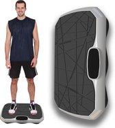 Trilplaat met Ingebouwde Bluetooth Speaker – Powerplate – Trilplaat Fitness – Antislip – Voetmassage Apparaat - Wit