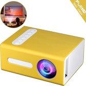 Mini Beamer T300 - Mini Projector - Nieuwste 2021 Versie - Smartphone - Full HD - 1080p