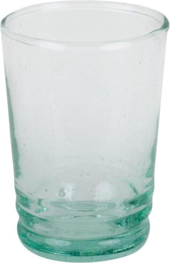 espressokopjes glas - set van zes