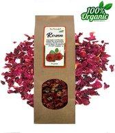 Gedroogde Rozen blaadjes en bloemen 50 gr - Biologisch - Thee - Potpourri - Pure Naturals