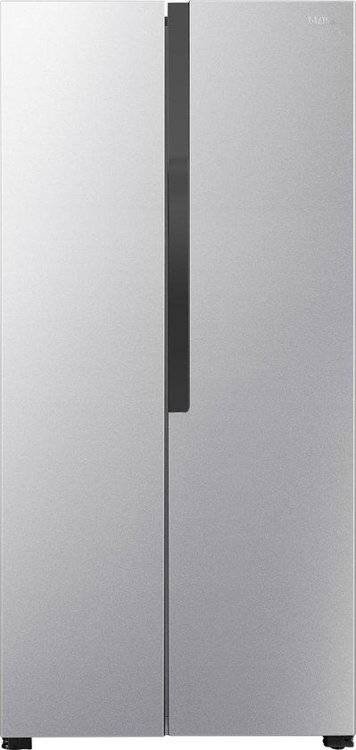 Koelkast: ETNA AKV177ZIL - Amerikaanse koelkast - Zilver, van het merk ETNA