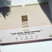 Familieplanner 2022 - Purpuz Family Planner 2022 - Familieplanner voor 5.5 pers. - Weekplanner A4++ - Handige Lijstjes. Ga ook voor Minder Stress en Meer Overzicht >