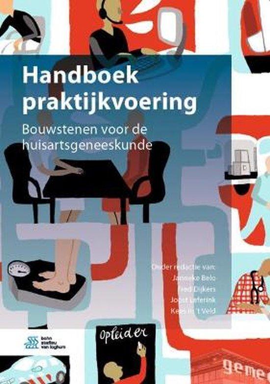 Boek cover Handboek Praktijkvoering van J N Belo (Hardcover)