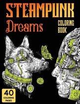 Steampunk Dreams Coloring Book