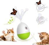 Petgeek Egg laser - automatischbewegend kattenspeelgoed met laser - kattenspeeltjes intelligentie - Interactief speelgoed laserpen - kattenspeelgoed - kitten - katten speeltjes