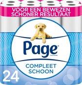 Page toiletpapier - Compleet Schoon wc papier - voordeelverpakking - 24 rollen