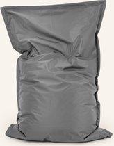 Drop & Sit Zitzak - Grijs - 100x150 cm - Voor binnen en buiten