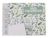 Familie Weekplanner 2022   Kalender   Planner   Familieplanner   Groot Formaat   Met Stickervel   Met foto inlay   Planner & Familie kalender   Om aan de muur te hangen   Gezinsplanner   Groen   Botanical