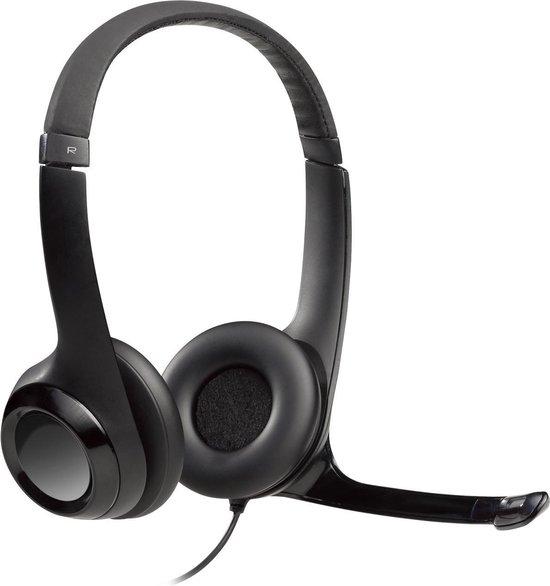 Logitech H390 - USB headset met ruisonderdrukkende microfoon - Zwart
