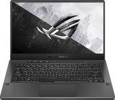 ASUS ROG Zephyrus G14 GA401QC-K2123T - Gaming Laptop - 14 inch - Wide QHD - 120 Hz - Grijs   Zwart