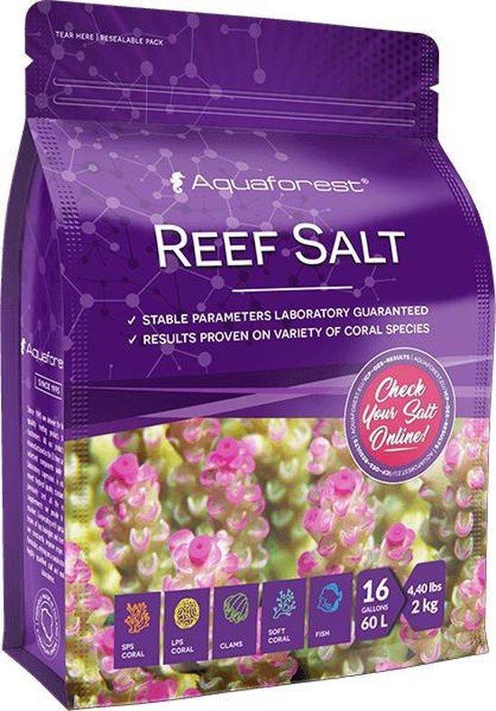 AquaForest Reef Salt - 2 kg - Zout - Aquarium - zeeaquarium - zeezout - zoutwater - aquarium zout - zoutoplossing